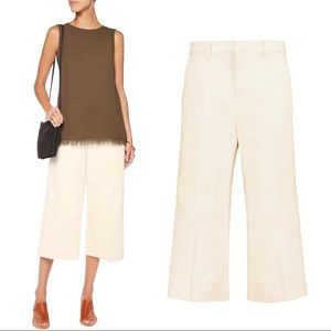 {J Brand x Theory} Tove Wide Leg Cropped Culotte